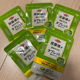 タイショウセイヤク(大正製薬)の尿酸値が高めの方のタブレット②(粒タイプ)×5袋セット(その他)