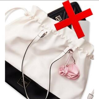 ヴィクトリアズシークレット(Victoria's Secret)の最新✾花のチャーム付きトートバッグ VS 新品タグ付き(トートバッグ)