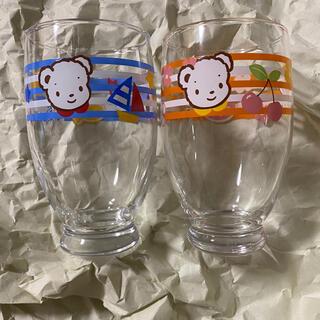 ファミリア(familiar)のファミリア ガラスコップ 非売品 familiar(グラス/カップ)