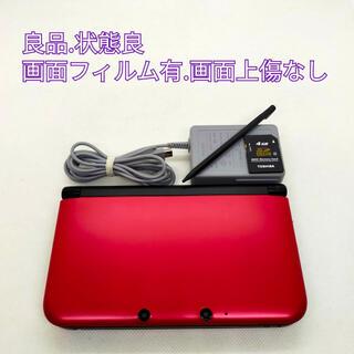ニンテンドー3DS - ニンテンドー3DS LL レッド×ブラック【良品.状態良】【ネコポス発送】