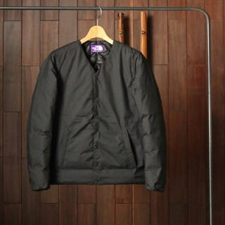 THE NORTH FACE - NORTH FACE PURPLE LABEL DOWN CARDIGAN
