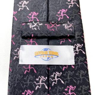USJ - USJ ユニバーサルスタジオジャパン ピンクパンサー 高級シルク100%オシャレ