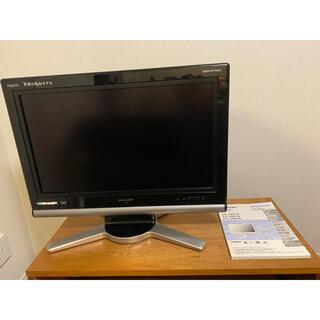 AQUOS - SHARP AQUOS D D10 LC-26D10-B 液晶カラーテレビ