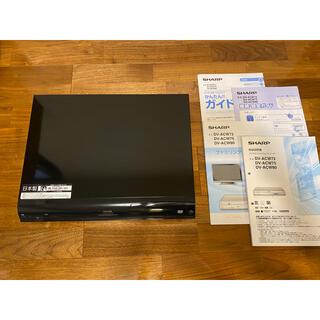 アクオス(AQUOS)のSHARP AQUOS ハイビジョンレコーダー DV-ACW72(DVDレコーダー)