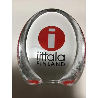 iittala - イッタラ ディーラーサイン ガラス レア 希少  旧ロゴ