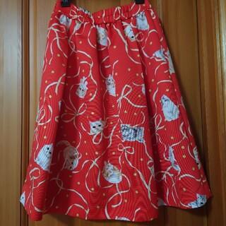 franche lippee - フランシュリッペ 猫リボンスカート