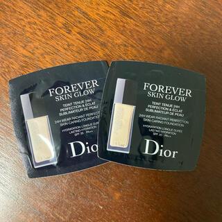 ディオール(Dior)の【新品】Dior サンプル フォーエバースキングロウ(サンプル/トライアルキット)