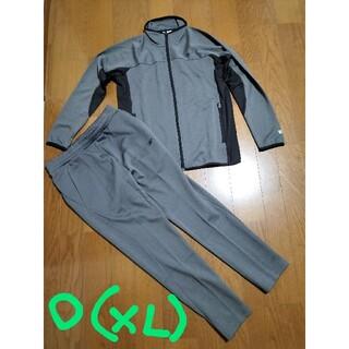 リーボック(Reebok)のReebokサイズO(XL)トラックスーツ上下セットXLグレー未使用(ジャージ)