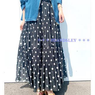 ビアズリー(BEARDSLEY)の46200円 BEARDSLEY ビアズリー 新品 マジョリカティアードスカート(ロングスカート)