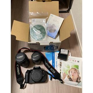 Canon - 【値下げ】Canon  EOS KISS X6i レンズ2個付!!