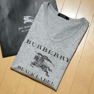BURBERRY - 一回着用【日本製】バーバリーブラックレーベル Tシャツ3