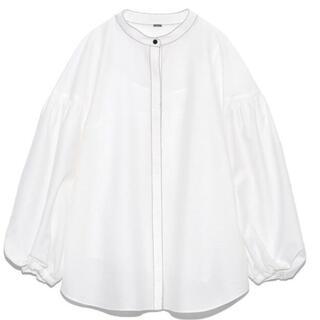 ミラオーウェン(Mila Owen)のスタンドカラー袖ボリュームブラウスS(シャツ/ブラウス(長袖/七分))