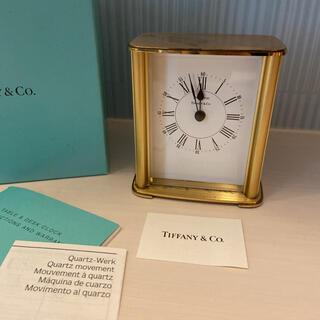 Tiffany & Co. - ティファニー ポートフォリオ 置き時計 TIFFANY&Co. インテリア 稼働