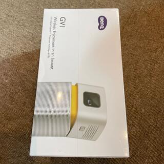 『新品未開封』BENQ ポータブル LEDプロジェクター GV1(プロジェクター)