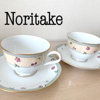 Noritake - ティーカップ&ソーサー セット
