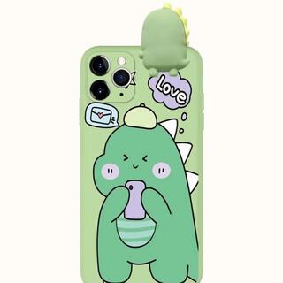 iPhone 11 ケース きょうりゅう ゴジラ ♡ 韓国