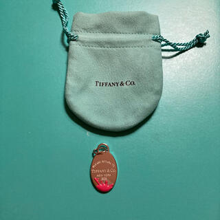 ティファニー(Tiffany & Co.)の未使用 ティファニー リターントゥティファニー オーバルチャーム(チャーム)