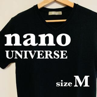 ナノユニバース(nano・universe)のレディース ナノユニバース tシャツ  サイズM  インナー 美品 即日発送(Tシャツ(半袖/袖なし))