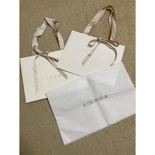 リエンダ(rienda)のリエンダ♡ショッパー♡ショップ袋♡紙袋(ショップ袋)