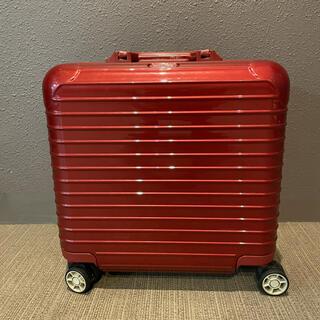 リモワ(RIMOWA)のRIMOWA サルサデラックス 4輪 オリエンタルレッド salsaDELUXE(トラベルバッグ/スーツケース)