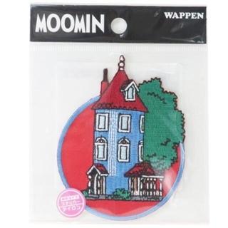 【ワッペン】ムーミン ワッペン  ムーミンハウス 他全6種類