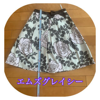 エムズグレイシー(M'S GRACY)の美品 エムズグレイシー スカート (ひざ丈スカート)