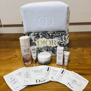 Dior ディオール コフレ スキンケア ポーチ&化粧品 試供品 セット