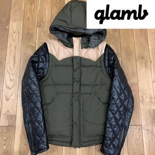glamb - グラム glamb    3way 切り離し レザー 切替 中綿 ジャケット