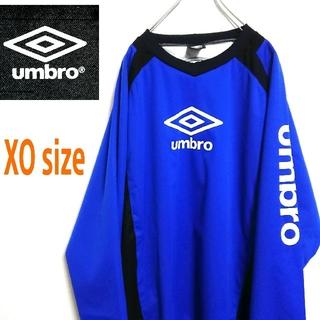 アンブロ(UMBRO)のUMBRO アンブロ  青色 ビッグサイズ ゲームシャツ  ナイロンジャケット(ナイロンジャケット)