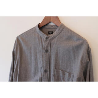 UNIQLO - ユニクロ スタンドカラー 襟なし シャツ セット まとめて フランネル