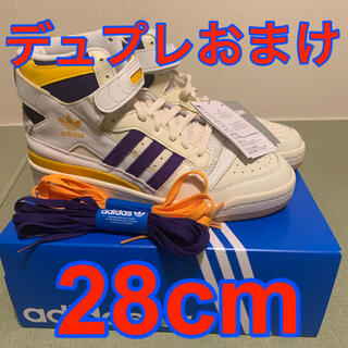 adidas - 28cm ADIDAS FORUM 84 HIGH LAKERS フォーラム