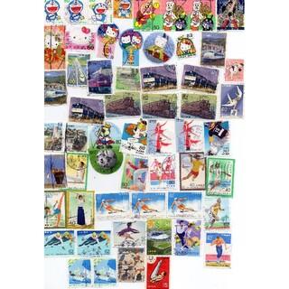 使用済み記念切手、アニメ、鉄道、皇室関連など(使用済み切手/官製はがき)