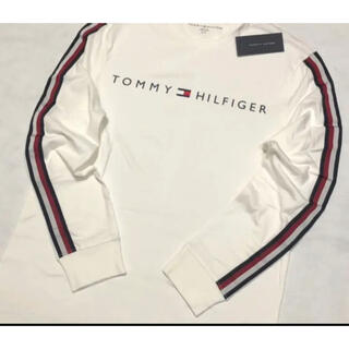 トミーヒルフィガー(TOMMY HILFIGER)の日本未入荷★トミー フィルフィガー ロゴ ロング スリーブ Tシャツ US/S(Tシャツ/カットソー(七分/長袖))