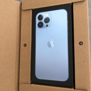 iPhone - iPhone 13 pro max simフリー シエラブルー 128GB
