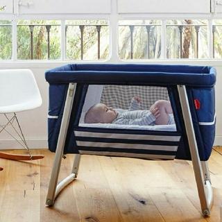 Babyhome - 折り畳みベビーベッド お昼寝ベッド ベビーホーム
