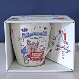 キャスキッドソン(Cath Kidston)の【新品未使用】キャスキッドソン ロイヤルウエディング限定マグカップ(食器)