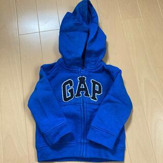 ベビーギャップ(babyGAP)のGAP baby ZIPパーカー 6〜12month(トレーナー)