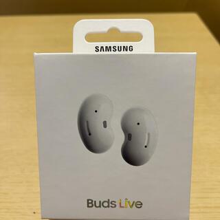SAMSUNG - SAMSUNG Galaxy Buds Live Mystic White