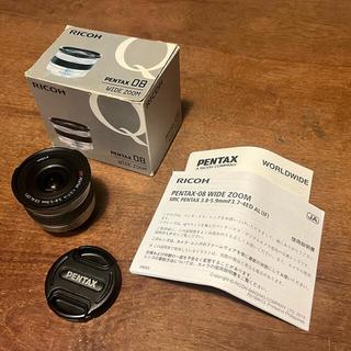 PENTAX - PENTAX 交換レンズ 08 WIDE ZOOM