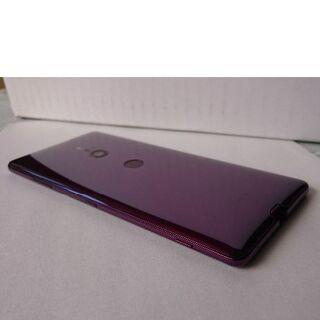 SONY - 美品 Xperia XZ3 801SO SONY 白ロム SIMフリー