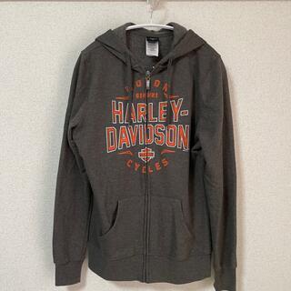 ハーレーダビッドソン(Harley Davidson)のハーレーダビットソンのパーカー(薄手)(パーカー)