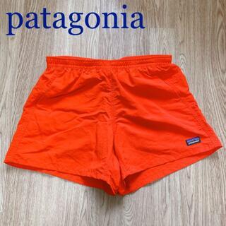 パタゴニア(patagonia)のpatagonia オレンジ ショートパンツ ナイロン生地 Sサイズ(ショートパンツ)