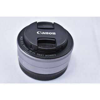 Canon - Canon 単焦点広角レンズ EF-M22mm F2 STM シルバー