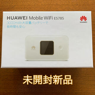 HUAWEI - HUAWEI E5785 SIMフリー モバイルwi-fiルーター  E5785