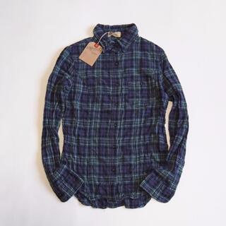 L'Appartement DEUXIEME CLASSE -  未使用 アパルトモン ヘリンボーンシャーリング チェックシャツ