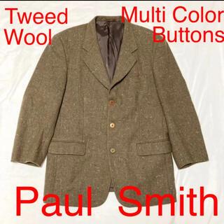 ポールスミス(Paul Smith)のPaul Smith London 多色ボタン ウールツイードジャケット 秋冬(テーラードジャケット)