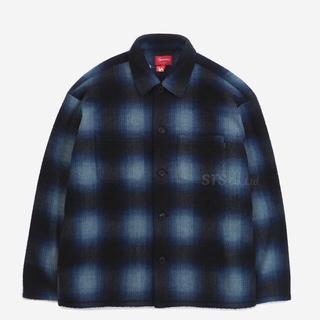 Supreme - Mサイズ Supreme Shadow Plaid Fleece Shirt