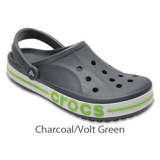 crocs - 24cm クロックスBayaband Clog Charcoal/Volt 新品