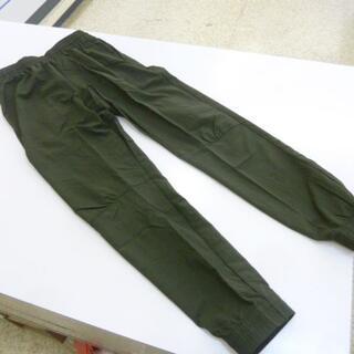 プーマ(PUMA)のM 深緑)プーマ★ウーブンパンツ 585260 ロング丈スリム裾絞り薄手puma(その他)