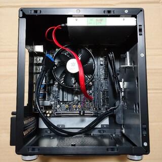 mini-ITXケース マザボ&Core i5-8400付